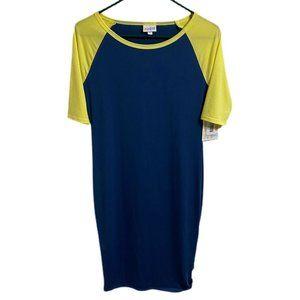 NWT Lularoe Color Block Julia Dress Women's XS